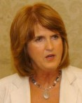 Joan Burton, newly elected spokesperson on finance, speaking at the Labour Party hustings in the Imperial Hotel.Picture: Richard Mills.